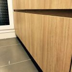 Mueble estratificado con puerta confort fit